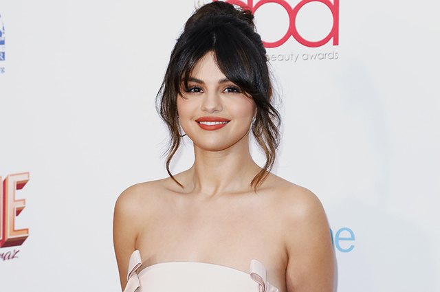Selena Gomez in a romantic look at the Los Angeles Beauty Awards