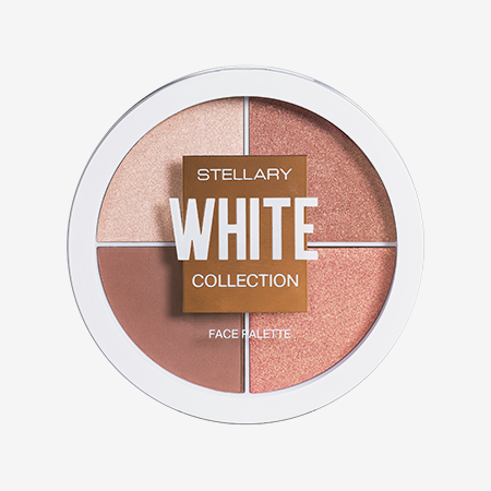 Палетка White Collection Face Palette, Stellary