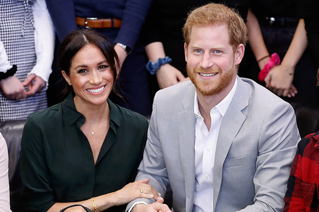 Meghan Markle and Prince Harry unexpectedly show up at a mental health videoconference