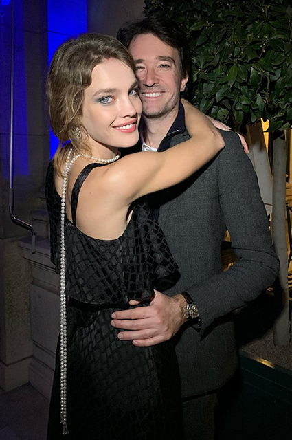 Natalia Vodianova and Antoine Arno