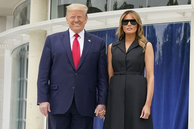 """The network discusses the video """"tight"""" smile Melania Trump"""