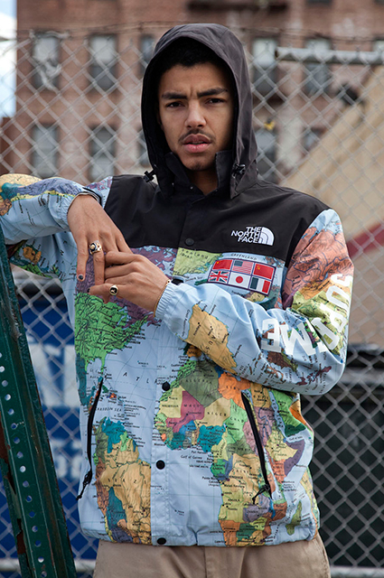 Коллаборация Supreme x North Face