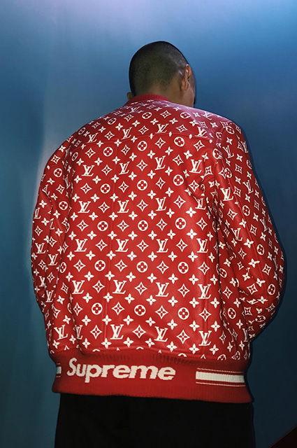 Коллаборация Supreme x Louis Vuitton