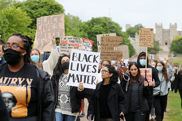 US anti-racist protests