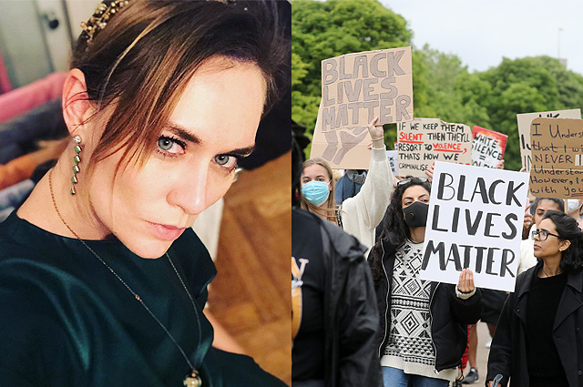 """Maria Mashkova oversees the protests in the United States: """"They gather to rob and smash stores"""""""