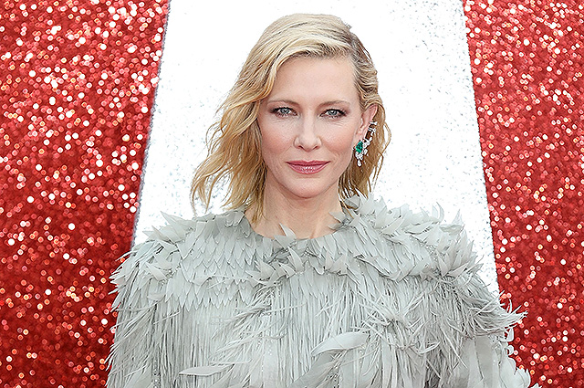 Cate Blanchett got a head injury due to careless handling of a chainsaw