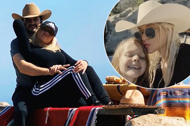 Waterfalls, mountains and romance: Christina Aguilera shared footage from a family trip