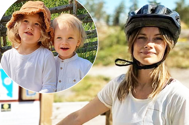 Prince Carl Philip and Princess Sofia share pictures from a family picnic with children