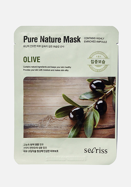 Маска с оливой Secriss Pure Nature Olive, Anskin (39 руб.)
