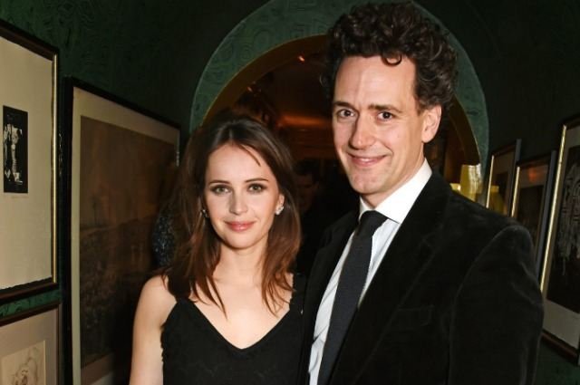 Felicity Jones and Charles Gard became parents for the first time