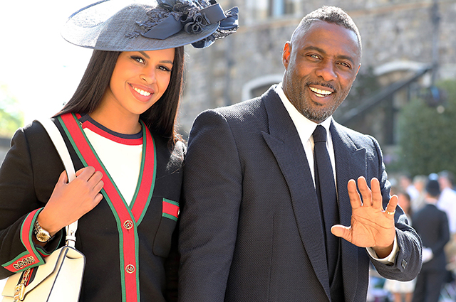 Idris Elba let slip that he and Sabrina Dour became parents for the first time