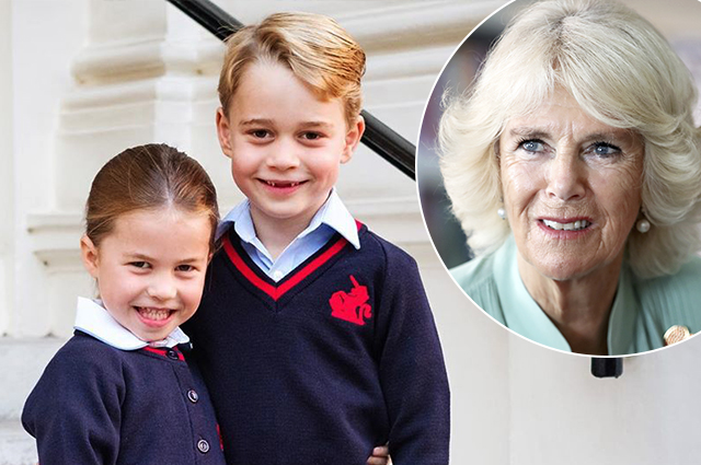 Duchess Camilla spoke about the unusual eating habits of her grandchildren George and Charlotte