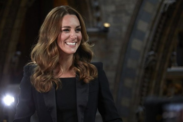 Kate Middleton visited the Natural History Museum: video