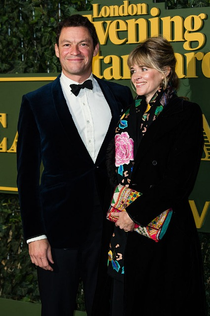 Katherine Fitzgerald and Dominic West