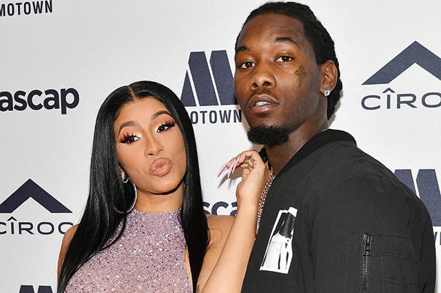 Cardi B caught kissing her ex-husband Offset a month after divorce announcement