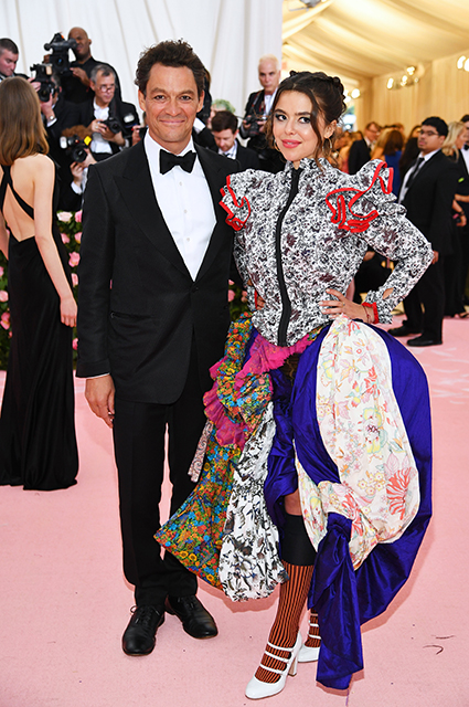 Dominic West with his wife Katherine Fitzgerald