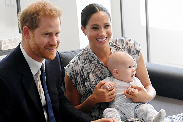 Meghan Markle and Prince Harry talk about the first steps of their son Archie