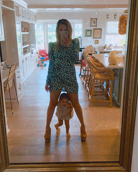 Kate Hudson with her daughter