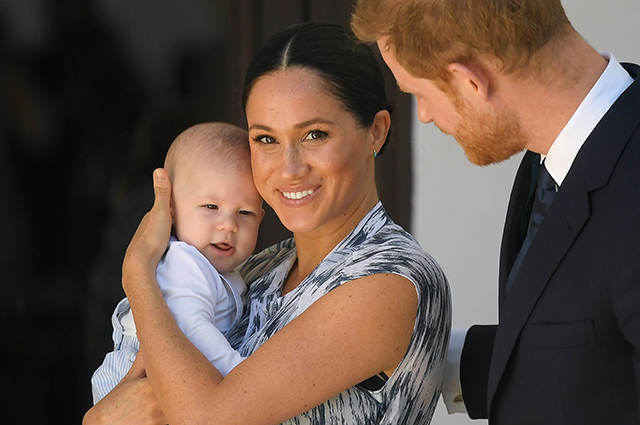 """The network is discussing the first public """"performance"""" of the son of Meghan Markle and Prince Harry"""