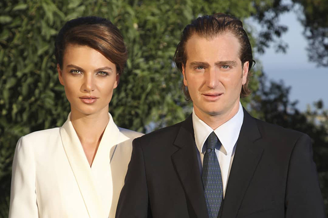 Prince of Georgia Juan Bagrationi-Mukhransky and his wife Christina are expecting their first child