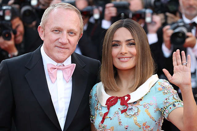 Salma Hayek responded to allegations that she married of convenience to billionaire François-Henri Pinault