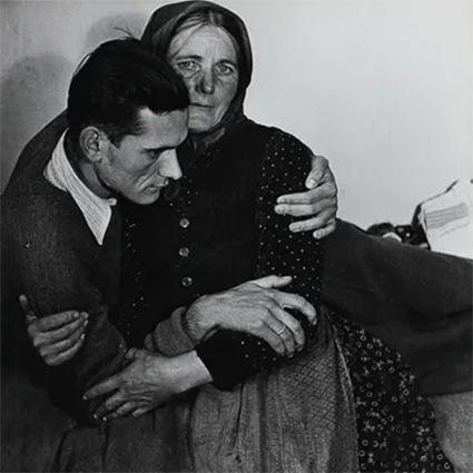 Photo of refugees, 1948