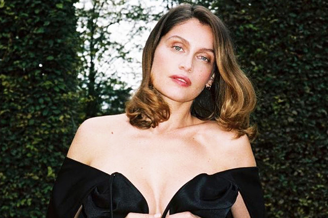 Laetitia Casta became a mother for the fourth time