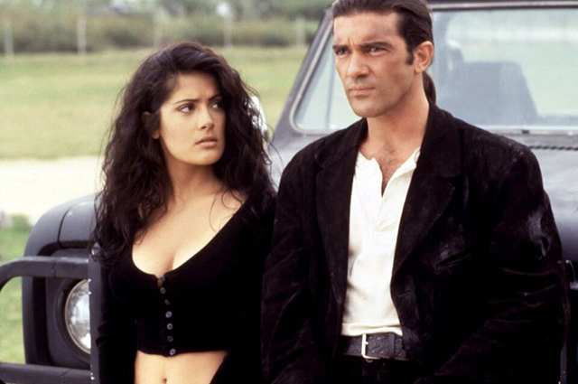 Salma Hayek and Antonio Banderas in Desperate