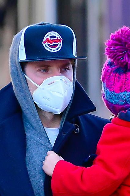 Bradley Cooper with daughter Leia