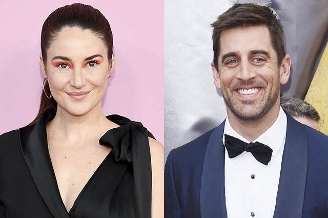 Shailene Woodley confirms engagement rumors to soccer player Aaron Rogers