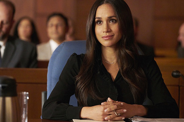 """Meghan Markle in the series """"Force Majeure"""""""