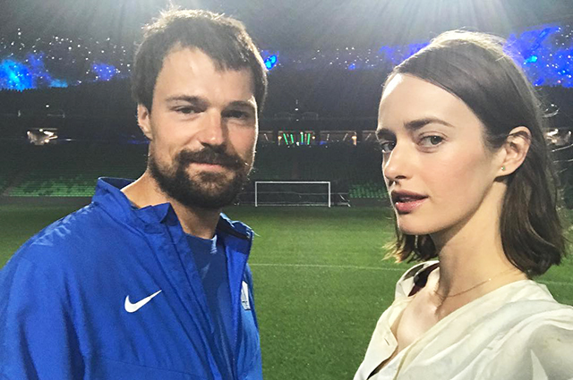 Danila Kozlovsky told about their one-year-old daughter Oda Valentina with Olga Zueva