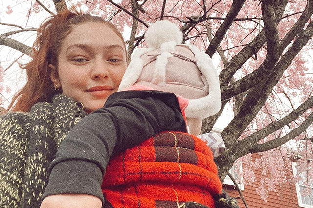 """Gigi Hadid shared new photos with her daughter High: """"Is my baby 7 months old?"""""""