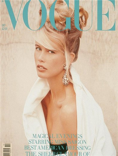 Vogue: Claudia Schiffer