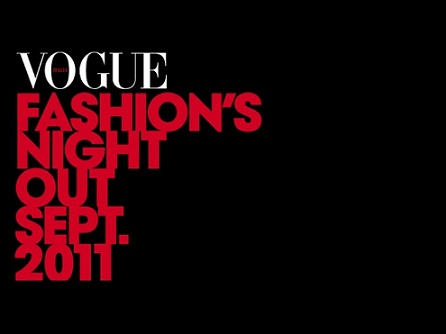 Первый Vogue Fashion's Nigh Out в Риме, 15 сентября 2011