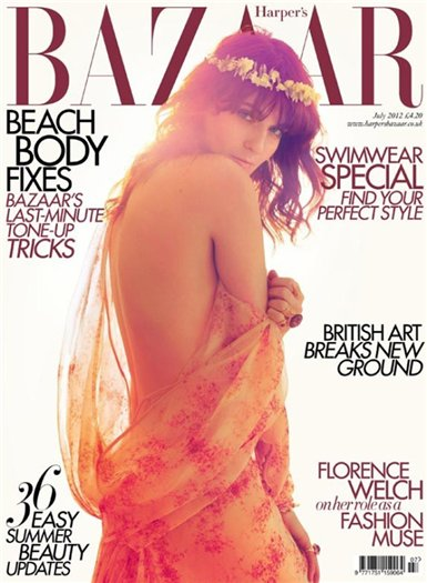 Флоренс Уэлч для Harper's Bazaar UK