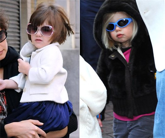 Fashion Battle: Shiloh vs. Suri