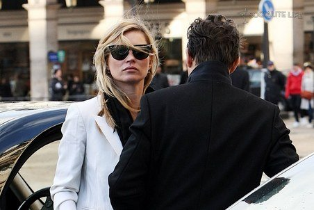 Kate Moss in Paris