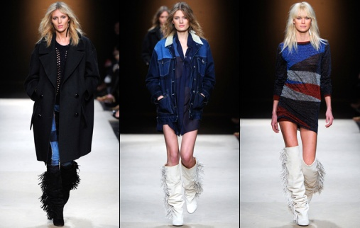 Isabel Marant Fall 2012 Paris Fashion Week