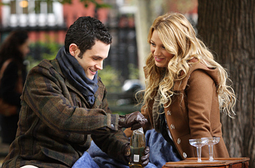 Blake Lively & Penn Badgley