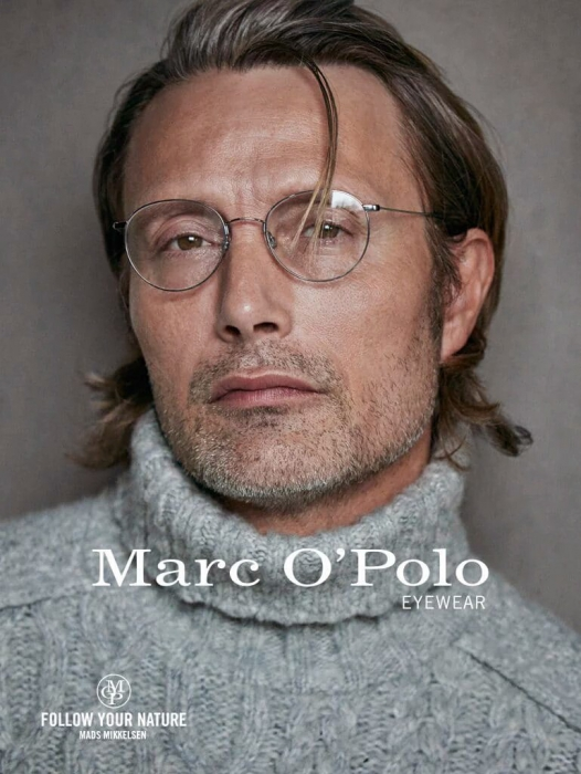 Mads Mikkelsen for Marc O'Polo Campaign