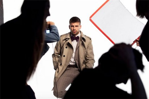 Gerard Pique for HE by MANGO