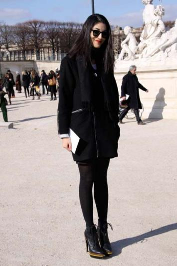 Paris Fashion Week- Street Style
