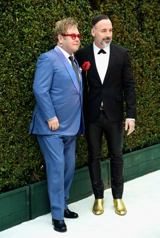Elton John AIDS Foundation Oscars Viewing