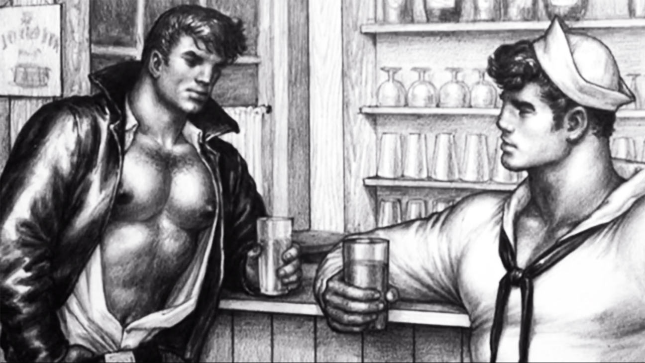 Tom of finland  artists  gallery  retroguy