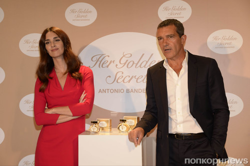 Антонио Бандерас представил парфюм Her Golden Secret