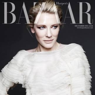 Кейт Бланшетт для Harper's Bazaar UK декабрь 2013