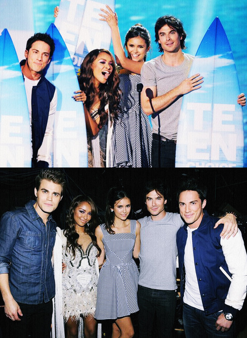 Команда The Vampire Diaries на Teen Choice Awards 2011