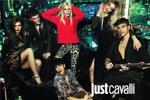 Just Cavalli Fall Winter 12-13