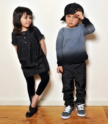 Fashion kids.